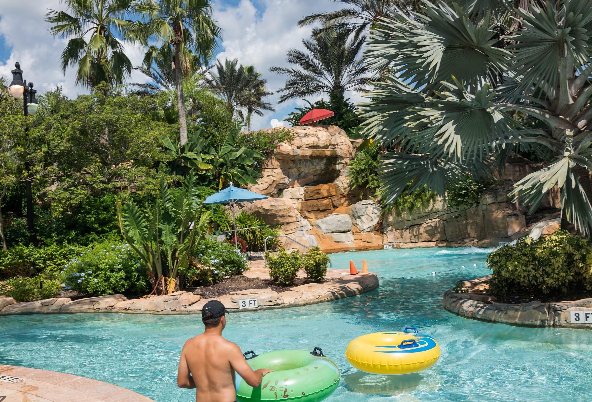 Familien-Wasserparks