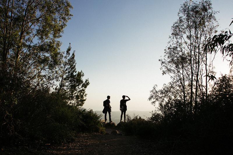 Wandern und Radfahren